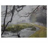 Roy Eaton : Misty Day at Kyson